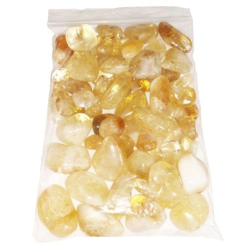 sachet pierres roulées citrine 1kg
