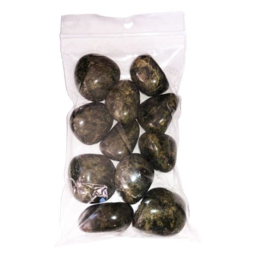 sachet pierres roulées épidote 250grs