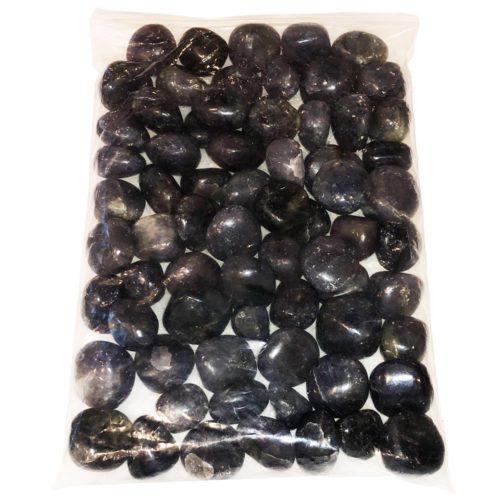 sachet pierres roulées iolith 1kg