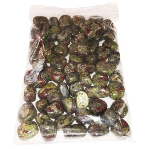 sachet pierres roulées jaspe sanguin 1kg