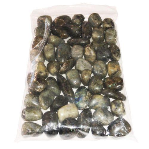pierres roulées labradorite 1kg