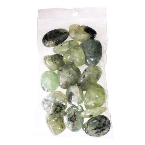 sachet pierres roulées préhnite 250grs