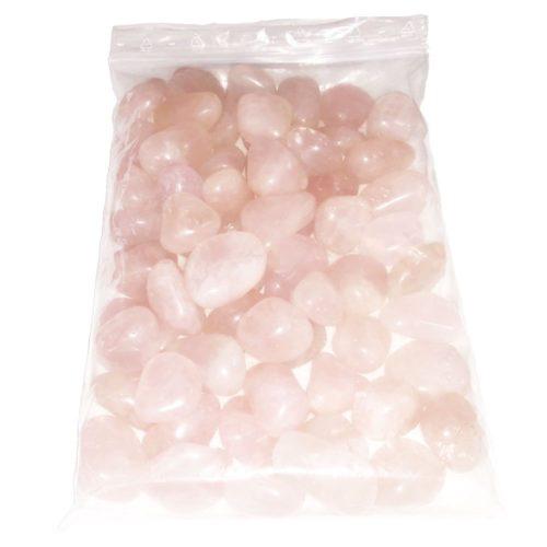 sachet pierre roulée quartz rose 1kg