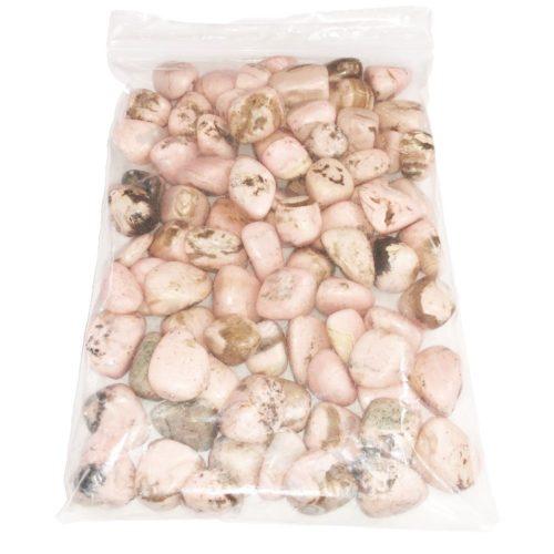 sachet pierres roulées rhodocrosite 1kg