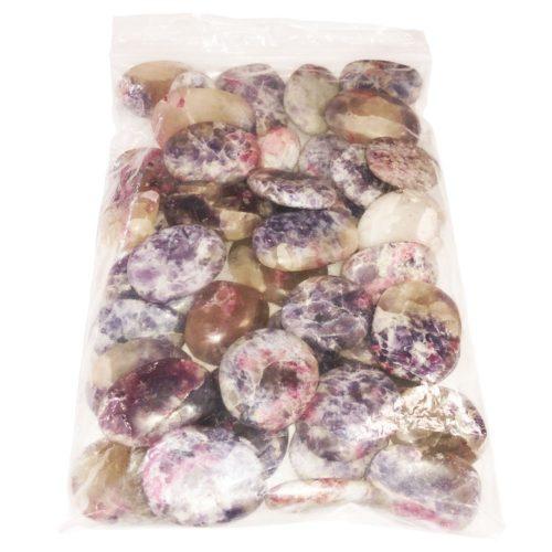 sachet pierres roulées rubellite 1kg