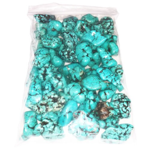 sachet pierres roulees turquoise