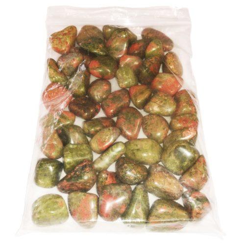 sachet pierres roulees unakite
