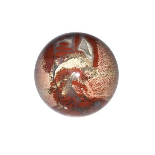 sphère jaspe bréchique 40mm