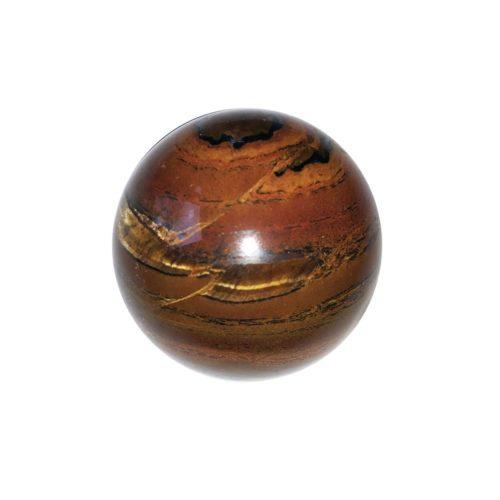 sphere oeil de tigre 40mm