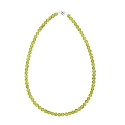 collier chrysolite 6mm
