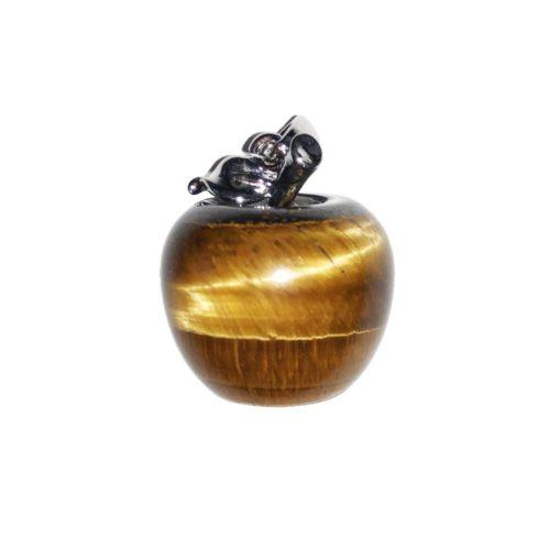 pendentif oeil de tigre pomme