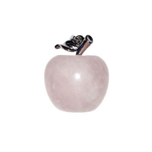 pendentif quartz rose pomme