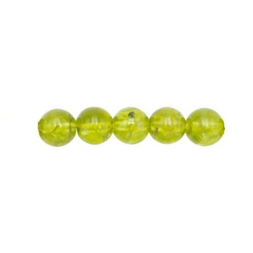 perle olivine 6mm