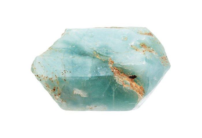 pierre apatite bleue