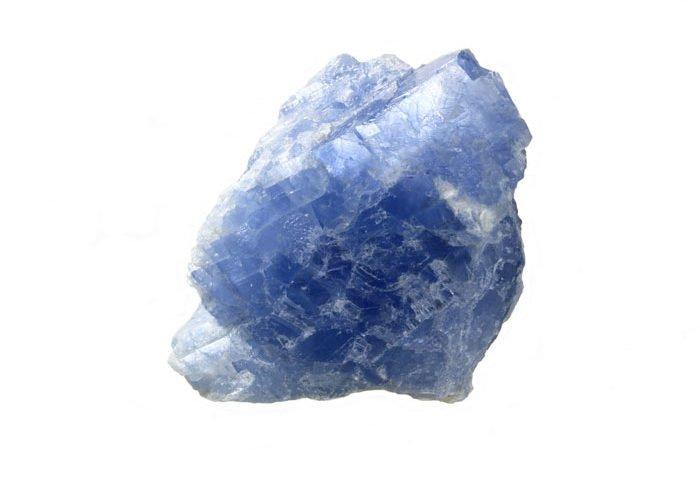 pierre calcite bleue
