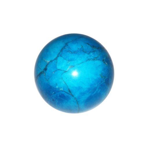 sphere howlite bleue 40mm