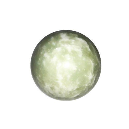 sphere jade vert 40mm