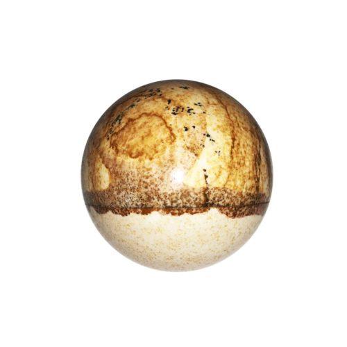 sphere jaspe paysage 40mm