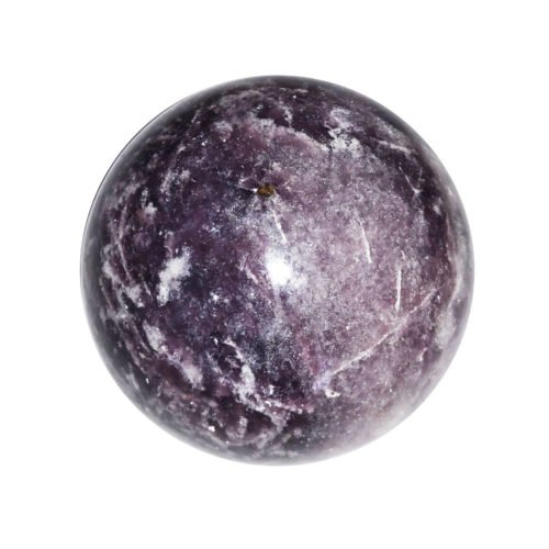 sphere lepidolite 60mm