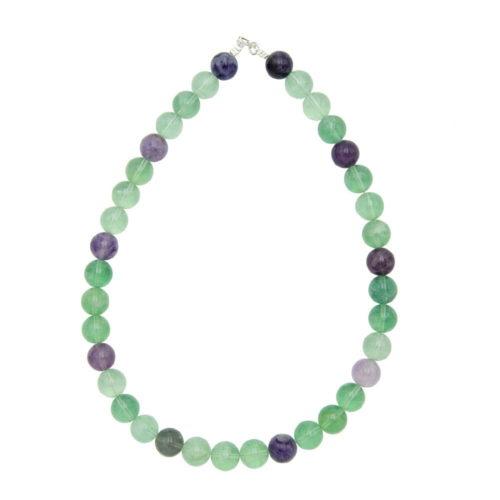 collier fluorine multicolore 12mm