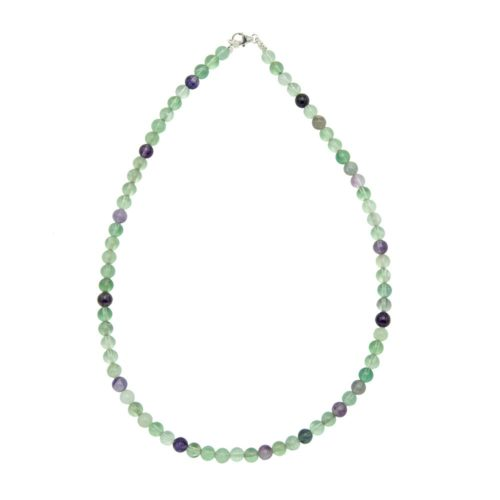 collier fluorine multicolore 6mm