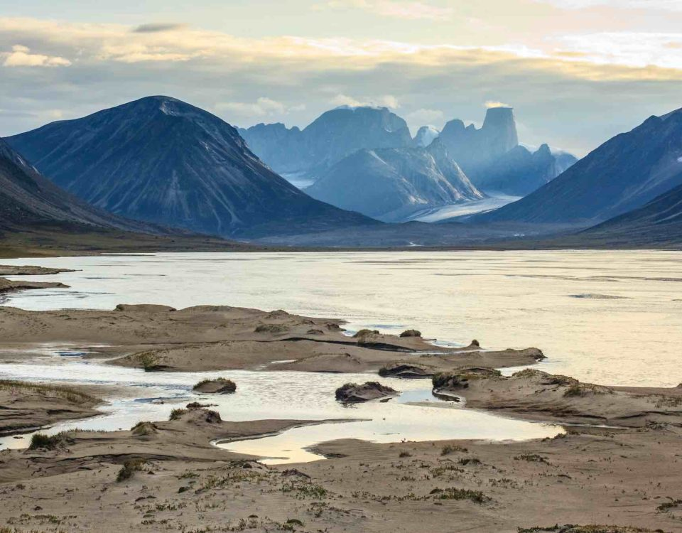 île de Baffin au Canada