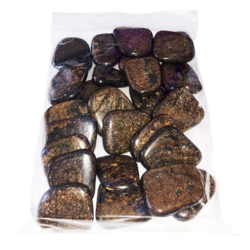 sachet galets Bronzite