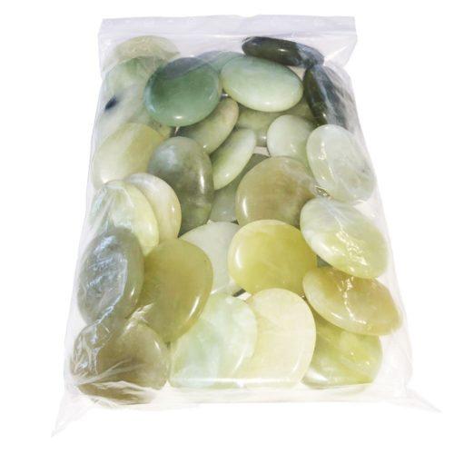 sachet galets Jade vert