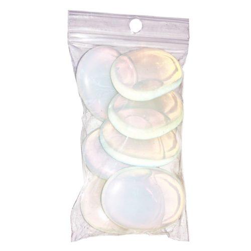 sachet galets opale synthétique