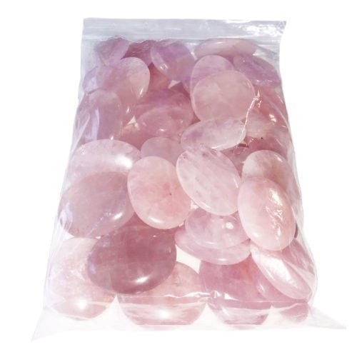 sachet galets Quartz rose
