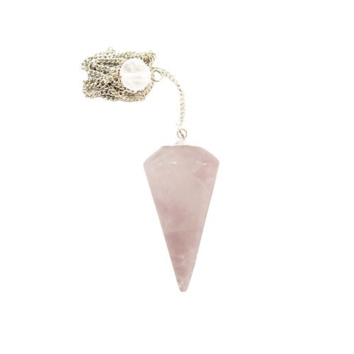 pendule quartz rose cone