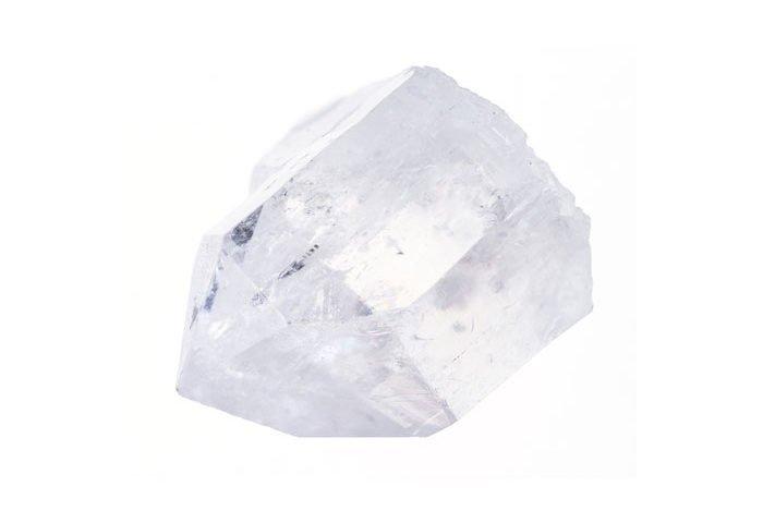 pierre quartz blanc