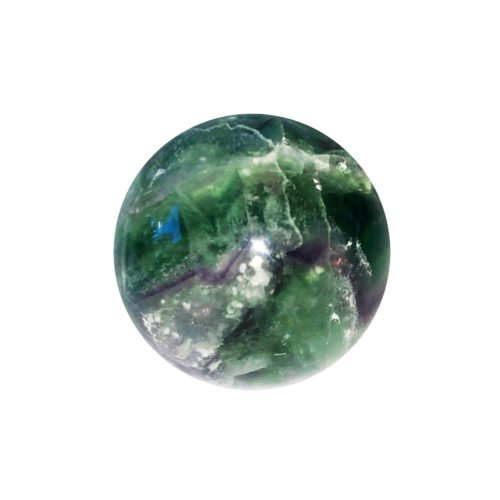 Sphere Fluorite multicolore - 40mm