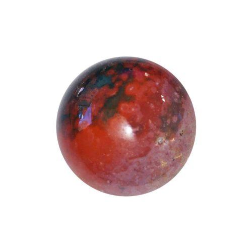 Sphere Jaspe héliotrope - 40mm
