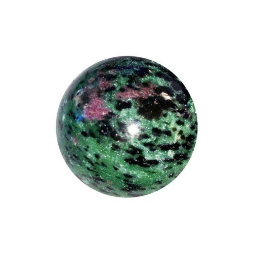 Sphere Rubis zoïsite - 40mm
