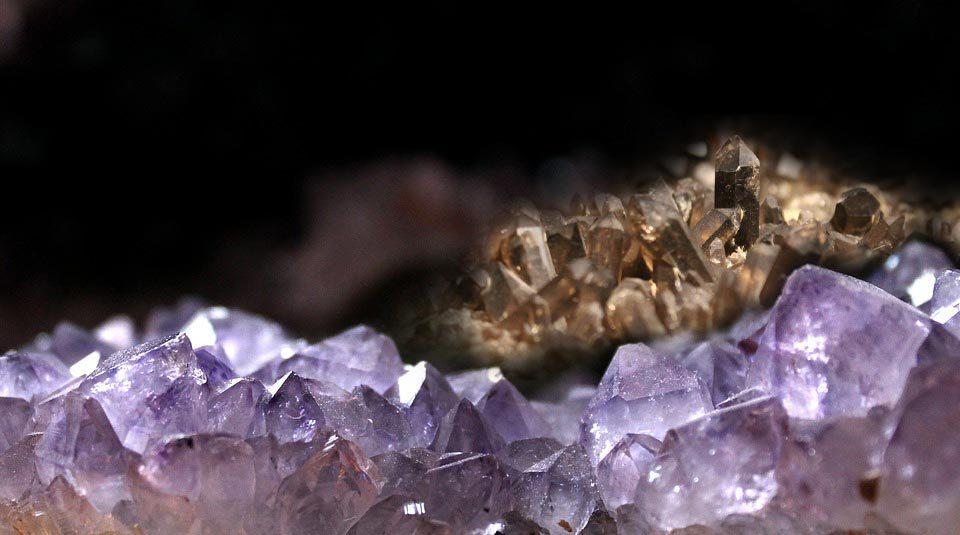 soin géode d'améthyste ou de quartz