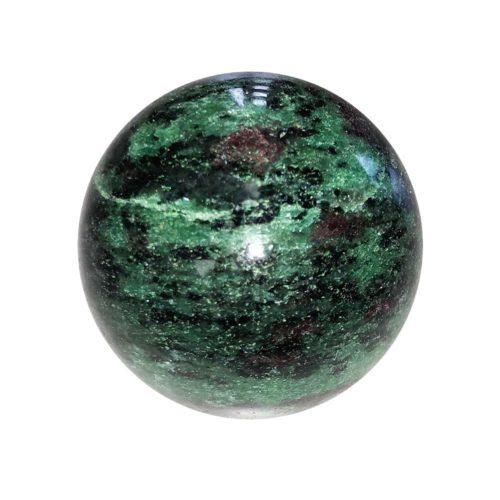 sphere rubis zoisite 55mm