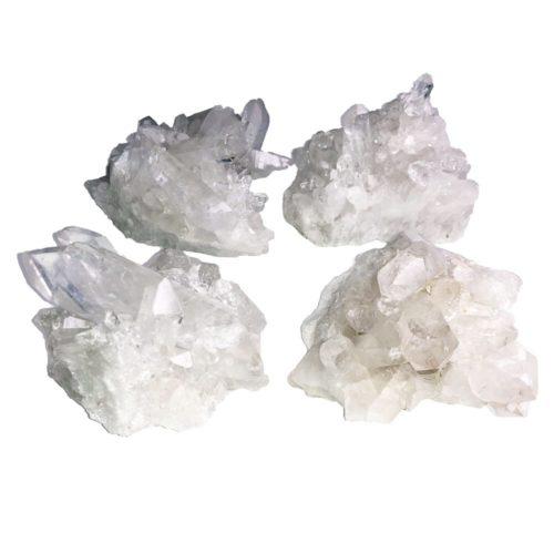 amas de quartz taille m