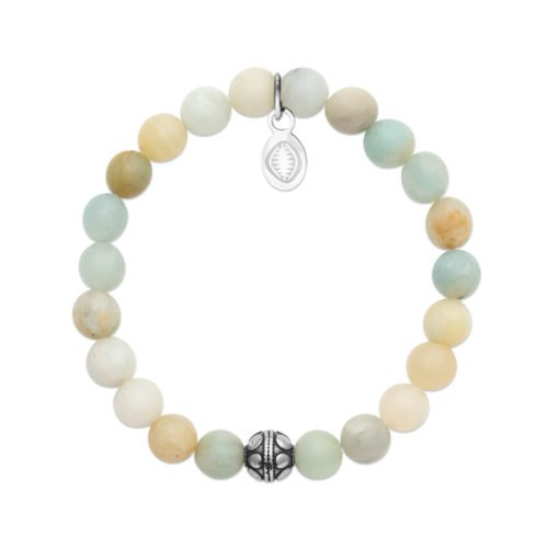 Bracelet Amazonite et Sphère