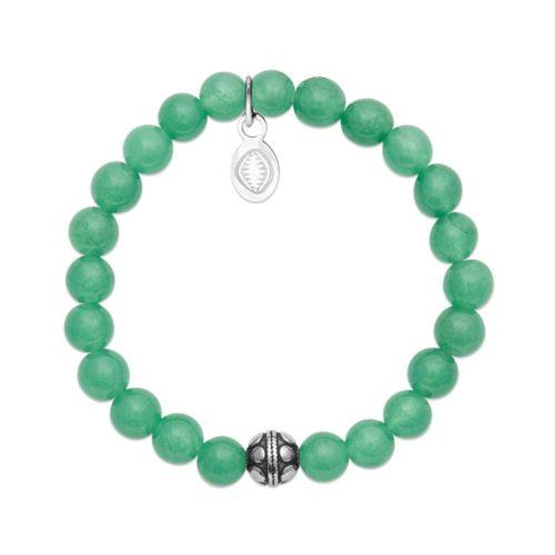 Bracelet Aventurine verte et Sphère