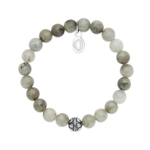 Bracelet Labradorite et Sphère