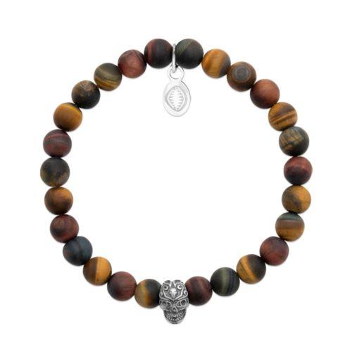 bracelet-oeil-de-tigre-et-crane