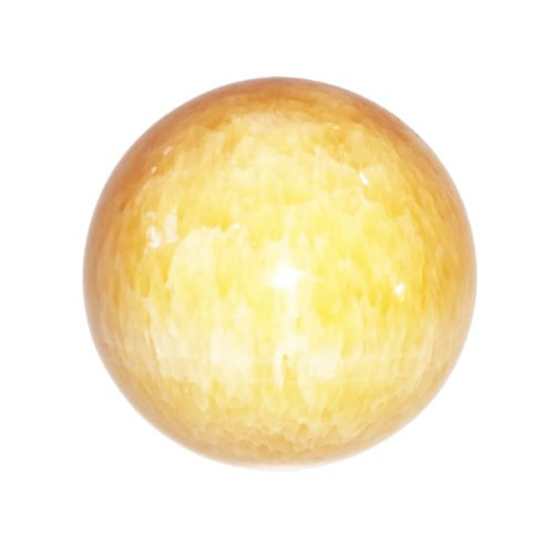 sphere fluorite jaune 55mm