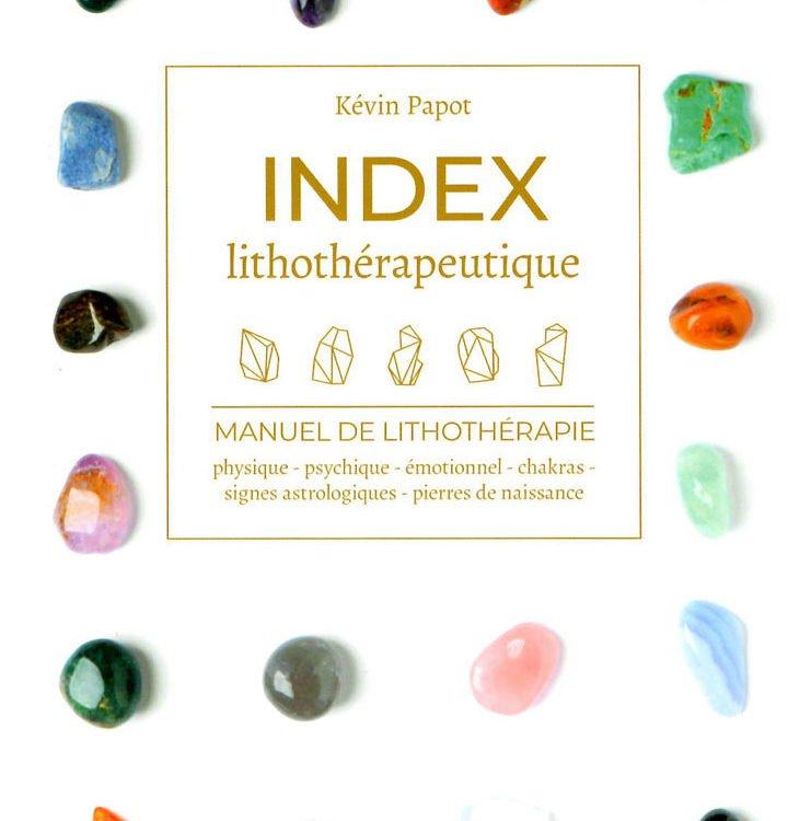 livre lithothérapie