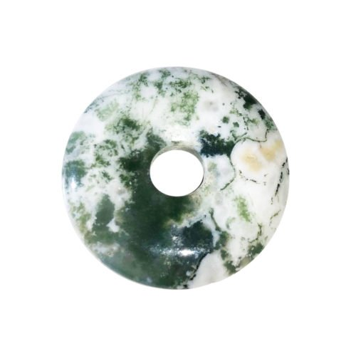 pi chinois donut agate arbre 30mm