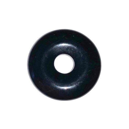 pi chinois donut agate noire 20mm