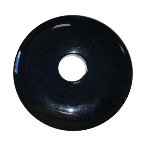 pi chinois donut agate noire 50mm