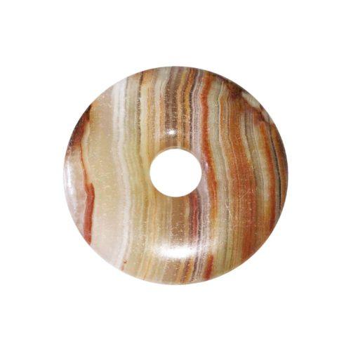 pi chinois donut aragonite verte 30mm