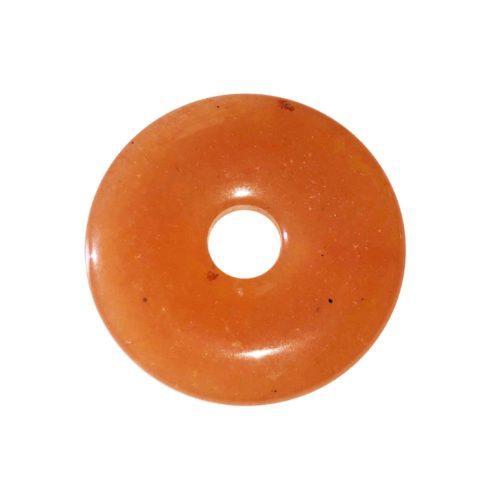 pi chinois donut aventurine rouge 30mm