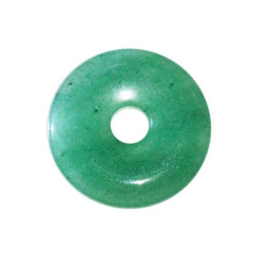pi chinois donut aventurine verte 30mm